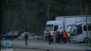 Germanwings Crash Victims' Grieving Families Arrive in French Village