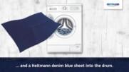 Хайтман кърпички за сини дънки. Върни цвета на любимите си дънки. Лесно и бързо освежаване в пералня