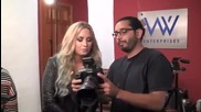 зад кулисите! Деми снима пълната фотосесия за Voto Latino