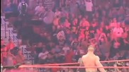 John Cena Singing Goodbye At Raw 8 3 09 Mohegan Sun Casino