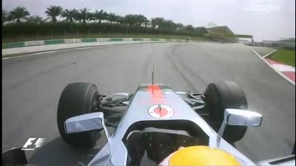 Формула 1 2012 - Малайзия - 1 Етап-част 5 край