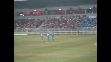 Черноморец 2:1 Левски представяне на отборите