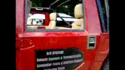 Сащ срещу Япония Hummer H1 vs 2 Wrx