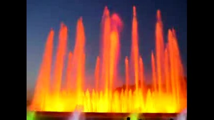 Barcelona - Пеещите фонтани2