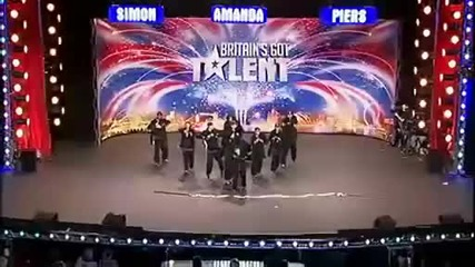 Улични танцьори на име Diversity Britain's got talent