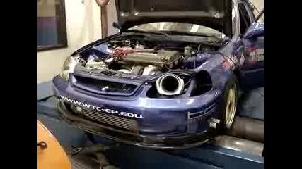 Адски Звяр - Honda Civic 700 Hp