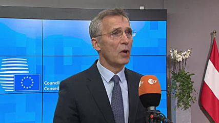 Belgium: Stoltenberg warns against EU military efforts 'competing' with NATO
