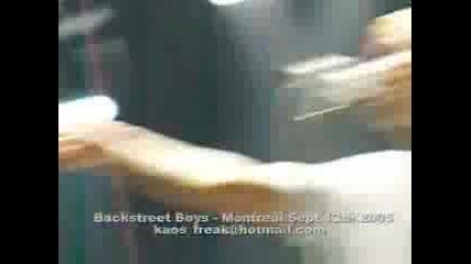 Backstreet boys Safest Place To Hide Live