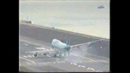 747 Extreme Landing