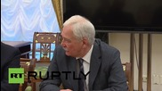 Russia: Putin meets with Security Council to discuss Syrian conflict