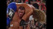 John Cena прави F U на Edge от Стълба !!!!!