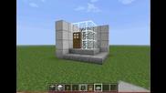Лесен и компактен душ във Minecraft
