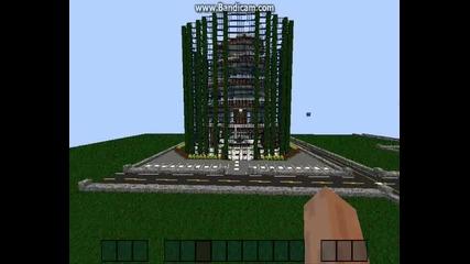 Minecraft : Хотел с Redstone асансьори