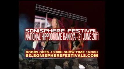 Sonisphere 2011 at Bankya Hippodromme