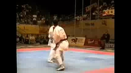 Rouhani vs. Luque Fight 1 (2002) Wkf Karate