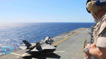 Watch the F-35B Land Vertically on the USS Wasp