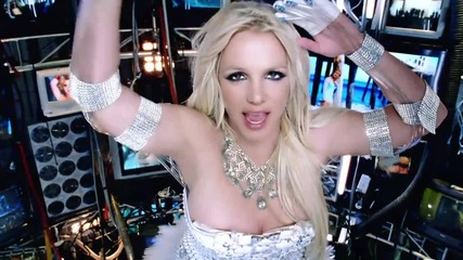 ( H D ) Britney Spears - Hold It Against Me (официално видео)