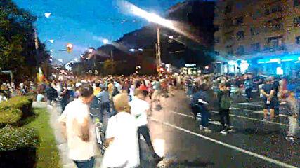 Антиправителствени протести: #Ден19