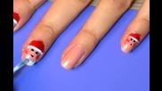 Santa Nails ( Коледен Маникюр )