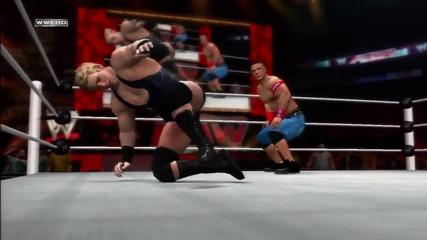 Wwe 12 John Cena Dynamic Comeback