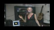 Ели - певицата от Vlch Music & Movies с изпълнение на авторската си песен Лятно утро