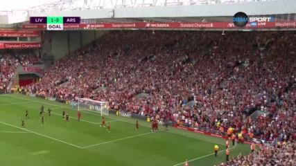 Матип наказа Арсенал след центриране от ъглов удар