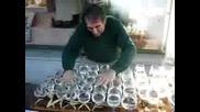 Как се свири с чаши