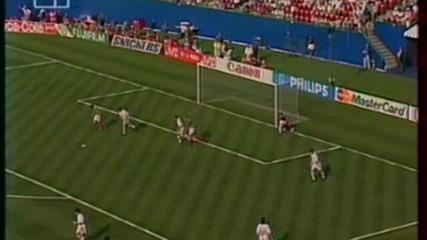 Футбол Мексико - България 1994 - Второ полувреме - Част 1/4 (високо качество)