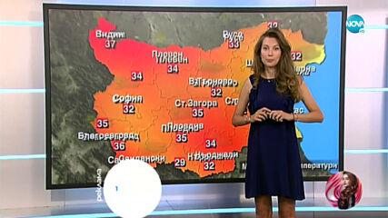 Прогноза за времето (22.06.2021 - централна емисия)