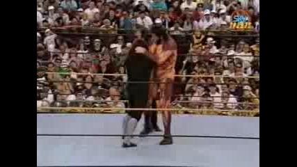 The Undertaker Vs Giant Gonzales