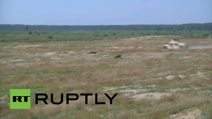 Lithuania: See NATO Humvees in live-fire exercises