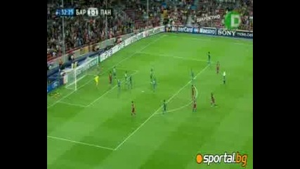 Шампионска Лига - Барселона - Панатинайкос 5:1