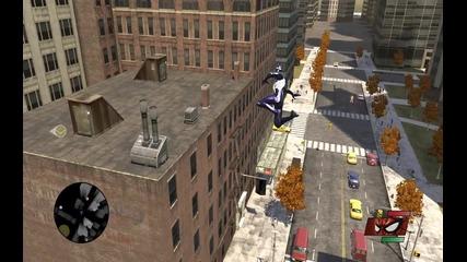 Spider Man Web of Shadows - Дъвки Five билборд