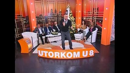 Bata Zdravkovic - Smeker - Utorkom u 8 - (TvDmSat 2015)
