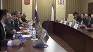 Russia: Israeli parliamentary delegation visit Crimea