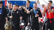 Croatia: Croatian squad receives warm welcome at Zagreb airport