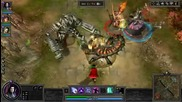Dota based game Rise of Immortals - First Look Trailer