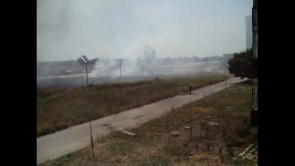 ямболски пожарникари в деиствие