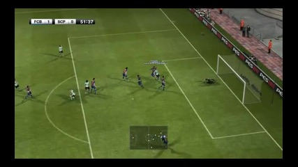Pro Evolution Soccer 2012 Barcelona-sporting