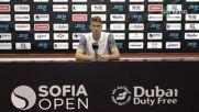 Александър Донски след поражението от Андреас Сепи на Sofia Open 2021
