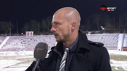 Ел Маестро: Искахме да останем в битката за титлата, за Левски всичко е приключило