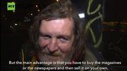 Prague's Homeless Become Wi-Fi Hotspots