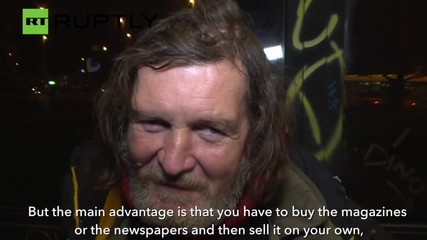 Prague's Homeless Become Wi-Fi Hotspots