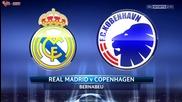 Real Madrid - Fc Kobenhavn 4-0