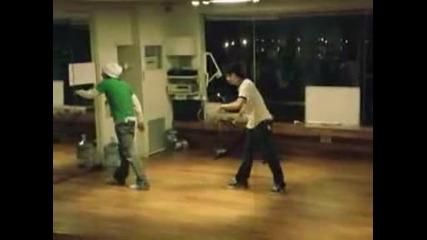 Yb Taekwon & G - Dragon Popping (practice).avi