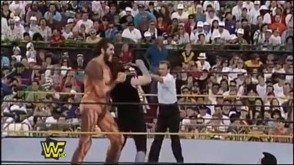 Wwf Wrestlemania 9 - The Undertaker срещу Giant Gonzalez
