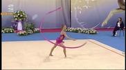 Мария Матева - лента - Световна купа по художествена гимнастика - София 2015