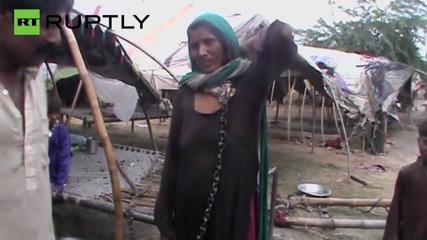 Пакистанската полиция освободи жена принудена да робува на мъжа си