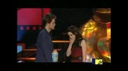 Robert Pattinson and Kristen Steward Mtv Best Kiss