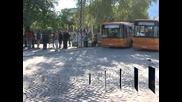 Втори ден продължава стачката на служителите в пловдивския градски транспорт